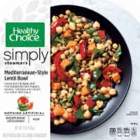 Healthy Choice Simply Steamers Mediterranean-Style Lentil Bowl Frozen Meal
