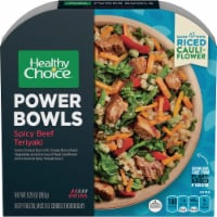 Healthy Choice Power Bowl Spicy Beef Teriyaki and Riced Cauliflower Frozen Meal
