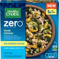 Healthy Choice Zero Verde Chicken Low Carb Lifestyle Frozen Meal - 9.5 oz