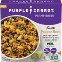 Purple Carrot Plant-Based Fiesta Pepper Bowl Frozen Meal - 10.75 oz