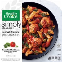 Healthy Choice Simply Steamers Meatball Marinara Frozen Meal