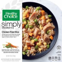 Healthy Choice Cafe Simply Steamers Chicken Fried Rice Frozen Meal