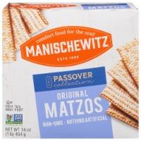 Manischewitz Unsalted Matzos - 16 oz