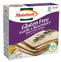 Manischewitz Gluten Free Garlic Rosemary Matzo Square