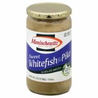 Manischewitz Sweet Whitefish & Pike in Jellied Broth - 24 oz