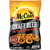 McCain Craft Beer Thin Cut Battered Onion Rings