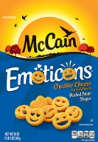 McCain Emoticons Cheddar Cheese Flavored Mashed Potato Shapes