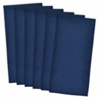 DII Nautical Blue Flat Woven Dishtowel (Set of 6) - 1