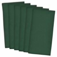 DII Dark Green Flat Woven Dishtowels (Set of 6) - 1