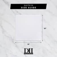 DII Navy & White Buffalo Check  Doormat - 1