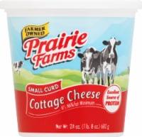 Prairie Farms Small Curd Cottage Cheese - 24 oz