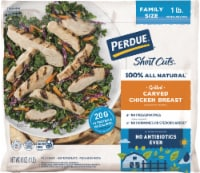 Perdue® Short Cuts® Grilled Carved Chicken Breast Family Size - 16 oz