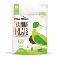 Full Moon Training Treats Cage Free Duck Dog Treats