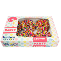 Dunford® Party Donuts - 6 ct / 25 oz