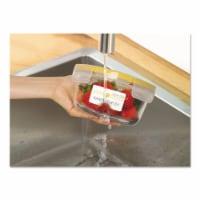 Avery White Dissolvable Labels W/ Sure Feed, 1 1/4 X 2 3/8, White, 90/Pk 4224 - 1