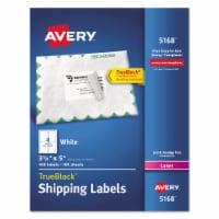 Avery Laser Label,3-1/2  H,5  W,PK100  7278205168 - 1