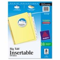 Avery® Big Tab™ Insertable Dividers - 8 pk