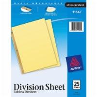 Avery® Gold Line Index Divider 11542 - 1
