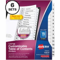 Avery® Ready Index Index Divider 11825 - 1
