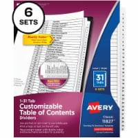 Avery® Ready Index Index Divider 11827 - 1