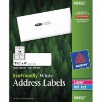 Avery Laser/Inkjet Label,1-1/3  H,4  W,PK100  7278248462 - 1