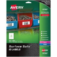 Avery Label,Ss,15/8x35/8,300,Wh 61502 - 1
