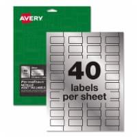 Avery Label,Asset Tag,320,Mlsv 61523 - 1