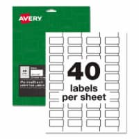 Avery Label,Dur,Asset Tg,320,Wh 61525 - 1