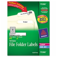 Avery Label,File Fld,60sht,We 75366 - 1