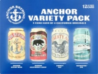 Anchor Brewing Co. Beer Variety Pack - 12 cans / 12 fl oz
