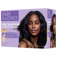 Dark & Lovely Triple Nourished Silkening Relaxer