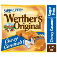 Werther's Original Sugar Free Chewy Caramel Candies - 2.75 oz