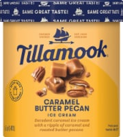 Tillamook Caramel Butter Pecan Ice Cream