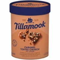 Tillamook Caramel Toffee Crunch Ice Cream