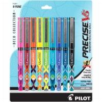 Pilot Precise V5 Deco Collection Premium Rolling Ball Pens - Assorted