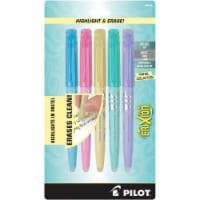 Pilot FriXion Light Pastel Erasable Highlighters - Assorted