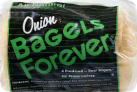 Bagels Forever Onion Bagels