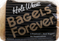 Bagels Forever Whole Wheat Bagels