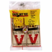 Woodstream-victor M035 2 Count Easy Set Mouse Traps - 2