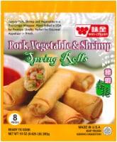 Wei-Chuan Pork Vegetable & Shrimp Spring Rolls
