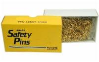 Prym Bulk Safety Pins Gilt Plated Brass 0 (Clsd) - 1
