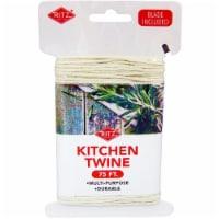 RITZ® 10011 Multi-Purpose Kitchen Twine 75ft w blade - 1 each