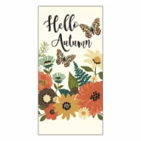 Print Dual Kitchen Towel - Autumn Wildflower Field