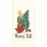 RITZ Happy Fall Fern Kitchen Towel - Green/White