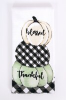 Print Dual Blessed Pumpkins Kitchen Towel