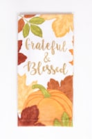 Print Dual Foil Kitchen Towel - Grateful Pumpkin