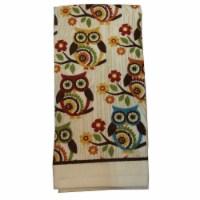 RITZ® 18341 Printed Dual Kitchen Towel 16X25 MEDALLION OWLS - 1 each