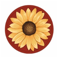 RITZ Novelty Sunflower Pot Holder - Red/Yellow