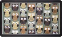 Ritz Owl Print Kitchen Mat