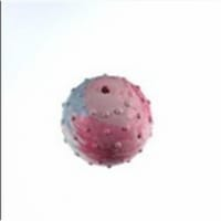 Diggers Blue Knobby Texture Rubber Ball Dog Toy Small 1 - Case Of: 1;